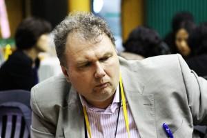 Юрий Соловьёв на турнире ветеранов в Корее