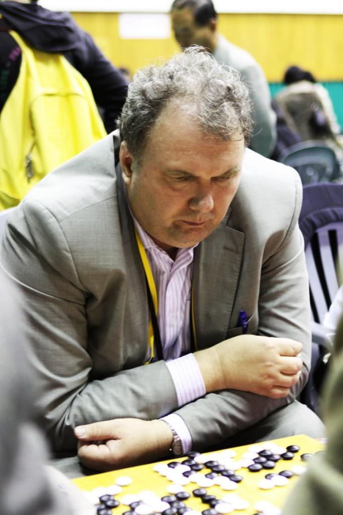 Юрий Соловьёв за доской